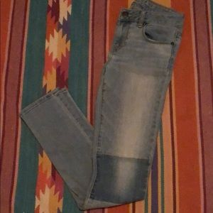 American Eagle Outfitters Patchwork Skinny Jeans